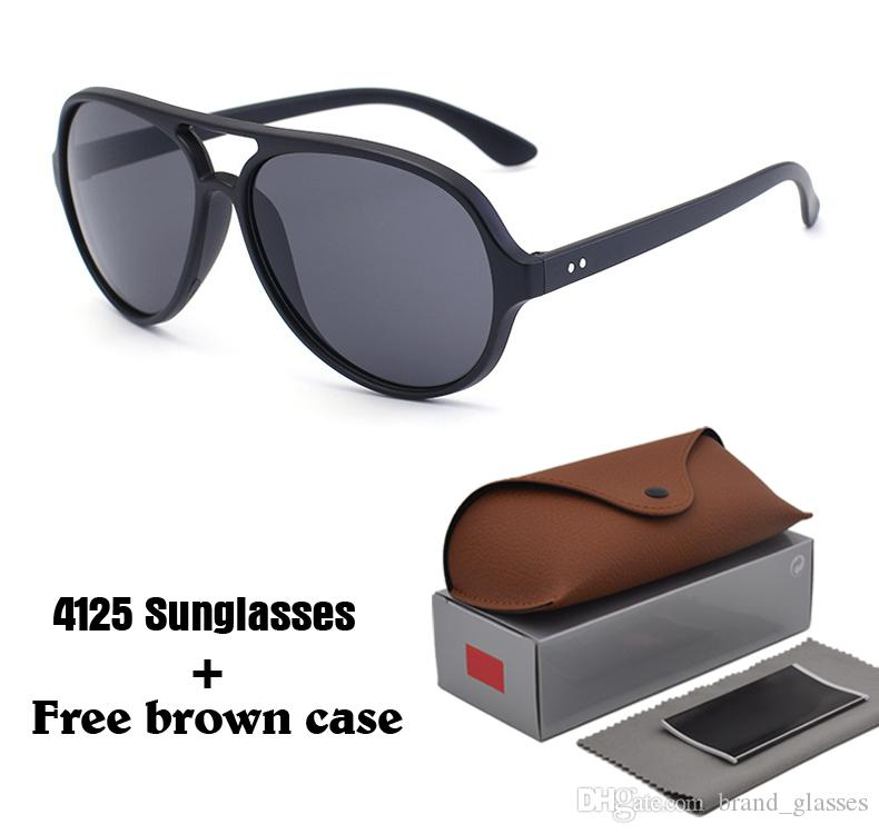 27f1c94c8c4 Classic Style Fashion Sunglasses Men Women Brand Designer Mirror Uv400  Lenses Unisex Sun Glasses Oculos De Sol With Cases And Box Mens Sunglasses  Police ...