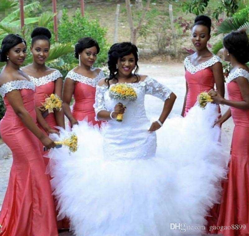 Schön Neueste Brautkleider In Nigeria Fotos - Kleider und Blumen ...