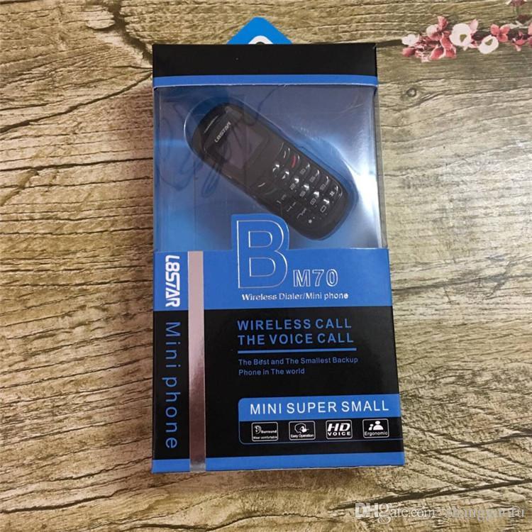 l8star BM70 mini phone bluetooth Dialer headphones headset Stereo Bass earphone SIM Card Dial Call mini mobile phones for kids