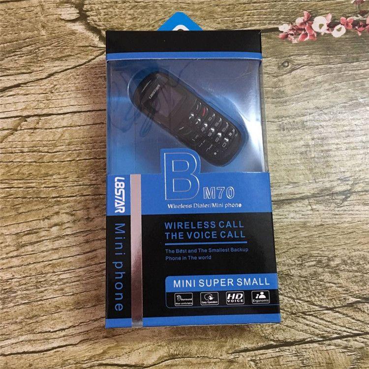 l8star bm70 mini telefone bluetooth discador fones de ouvido fone de ouvido estéreo baixo fone de ouvido sim card dial chamada mini telefones celulares para crianças