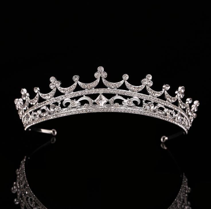 Düğün gelin düğün gelinlik çember taç İnci headdress süsler