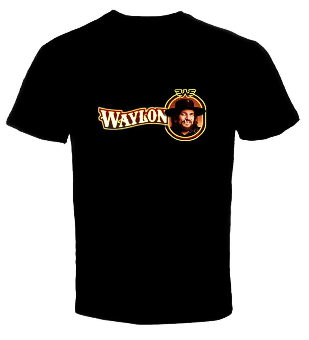 Waylon Jennings 2 New T Shirt Wholesale Summer Style High Quality