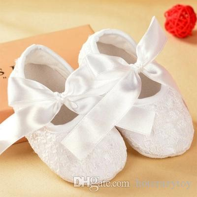 lovely Baby Toddler lace shoes Baby Kid Slip Candy Color girls' Princess first walker PU shoes Baby Soft Sole Ballet Style Shoes