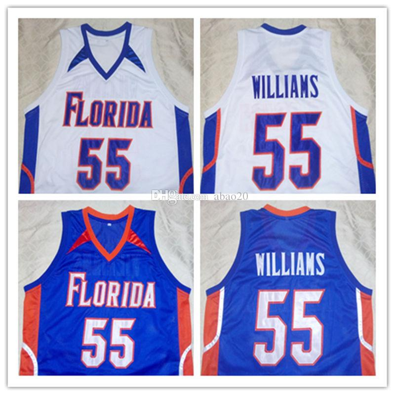 497141e859c 2019 JASON WILLIAMS Florida Gators Blue White College Basketball Jersey  Embroidery Stitched Customize Any Number And Name Jerseys From Abao20, ...