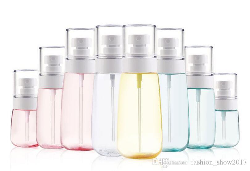 New 30ml 60ml 80ml 100ml Plastic Spray Glote Mist Spray Sprayer UPG Cosmative Refillable Bottle for Travel
