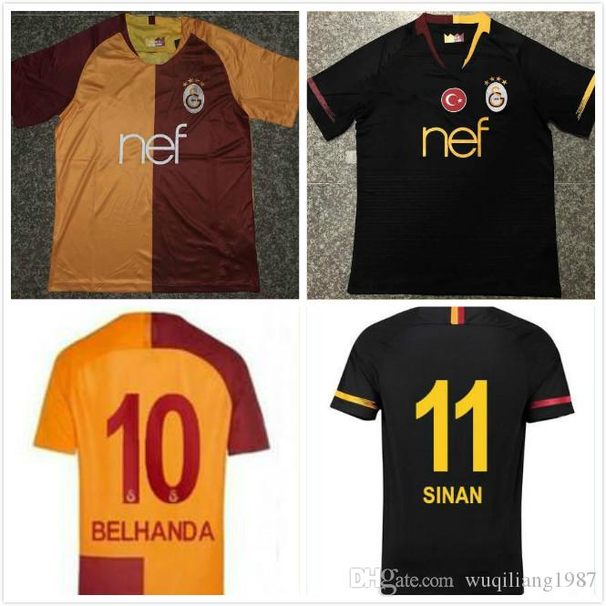 2019 AAA+2018 2019 Galatasaray Adult Soccer Jerseys Home Away GOMIS  Champions League 2018 2019 CIGERCI BELHANDA FERNANDO FEGHOULI FOOTBALL  SHIRTS From ... 09e387e15
