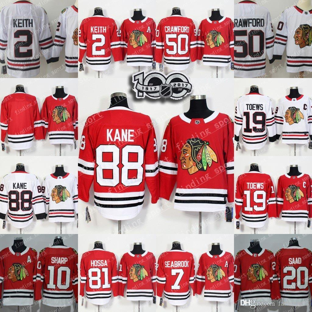 2018 Season Chicago Blackhawks 88 Patrick Kane 2 Keith 7 Brent ... 64d7c5520