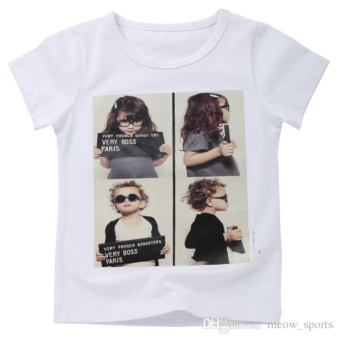 5557241b22ec 2019 Children S T Shirt Boys T Shirt Baby Clothing Little Boy Summer Shirt  Tees Designer Cotton Cartoon Clothes 2 8 Y From Meow sports