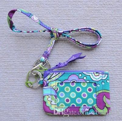 ID Case with Lanyard ID Card Holder Bus key wallet Card Case
