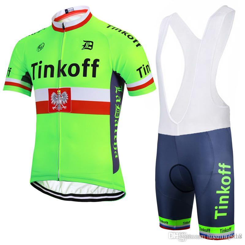 2017 Saxo Bank Tinkoff Breathable Cycling Jersey Sets Racing Bike Cycling  Clothing Mens Bicycle Clothes Wear Ropa Ciclismo Sportswear B2406 Cycling  Cycle ... d37dc86de