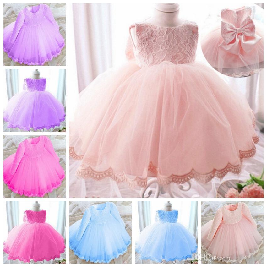 e59d7dffa Fashion New Design Princess Baby Girl Dresses cute lace dress Girl's Dresses  baby party dresss kids birthday dress