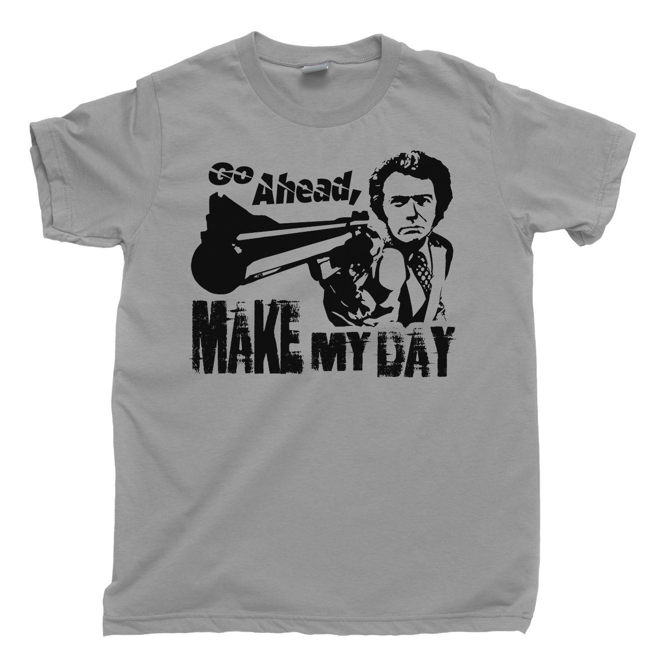 851b04e562a5c Details zu DIRTY HARRY T Shirt Make My Day Clint Eastwood Western Tee DVD  Blu Ray Box Set Funny free shipping Unisex Casual tee gift