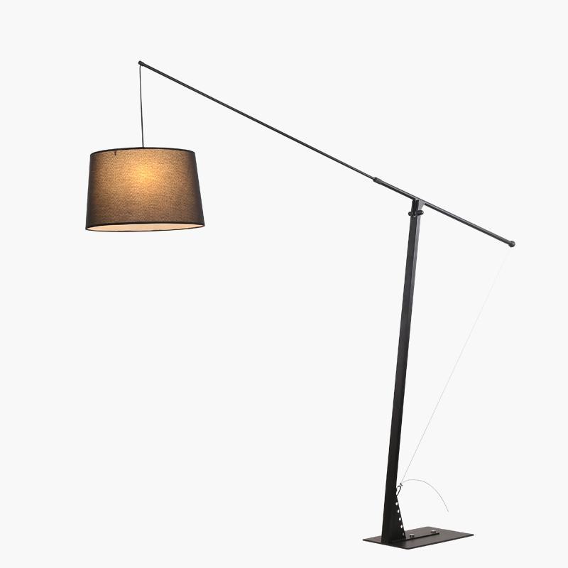 modern standing lamp. 2018 Modern Floor Lamps 5w Led Bulb Living Room Bedroom Study Adjustable Standing Black Iron White Fabric Decor Home Light 220v From Stylenew, Lamp O