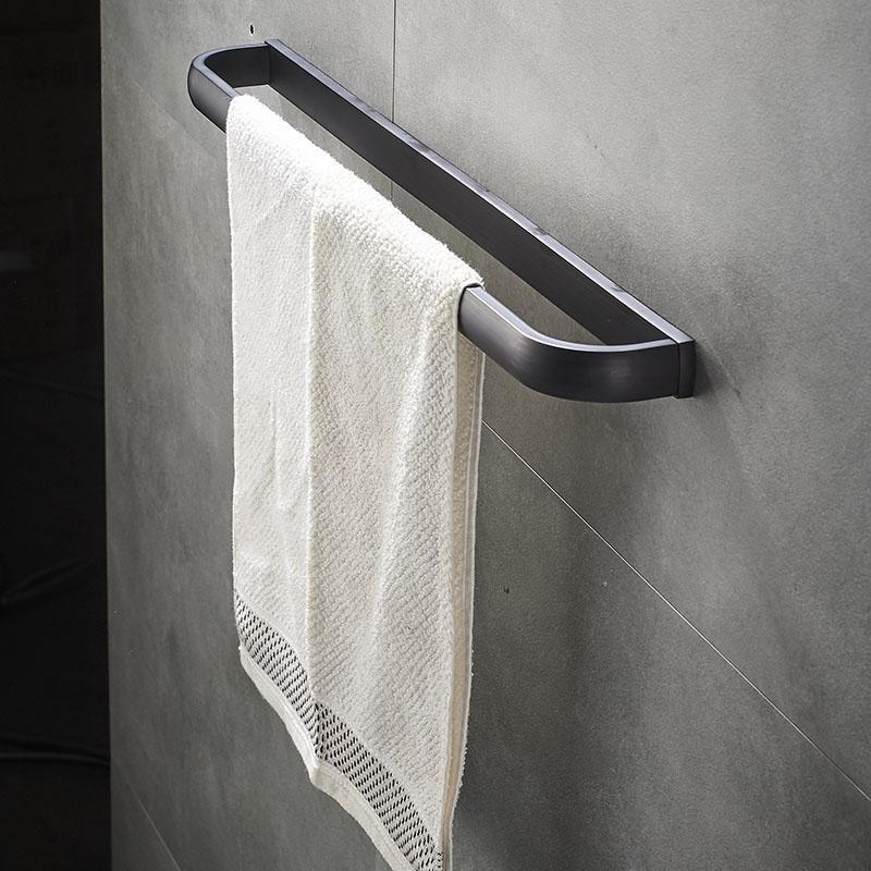 Handtuchhalter Hängend Schwarz
