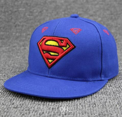 3aaf8906c0bfe 2019 Lovely Children S Snapback Caps Superman Boys Baseball Cap Hip Hop Cap  Snapback Hat 3 10 Years Old Boys And Girls Hat Gorras From Jersey best