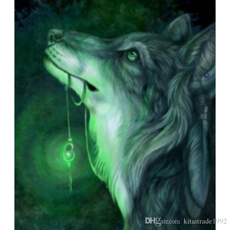 wolf diy diamond painting kit 5D DIY Cross Stitch Full Diamond Embroidery  3D Diamond Mosaic Painting Christmas Gifts Home decor
