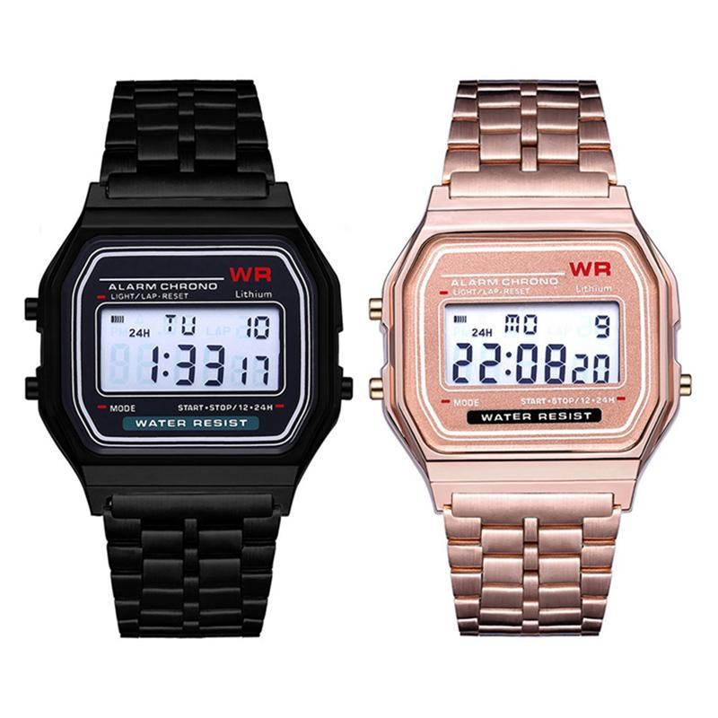 2019 Luxus Marke Design Led Uhr Mode Multifunktions Leben Wasserdichte Uhr Für Männer Billig Elektronische Digitale Uhren Uhren Herrenuhren