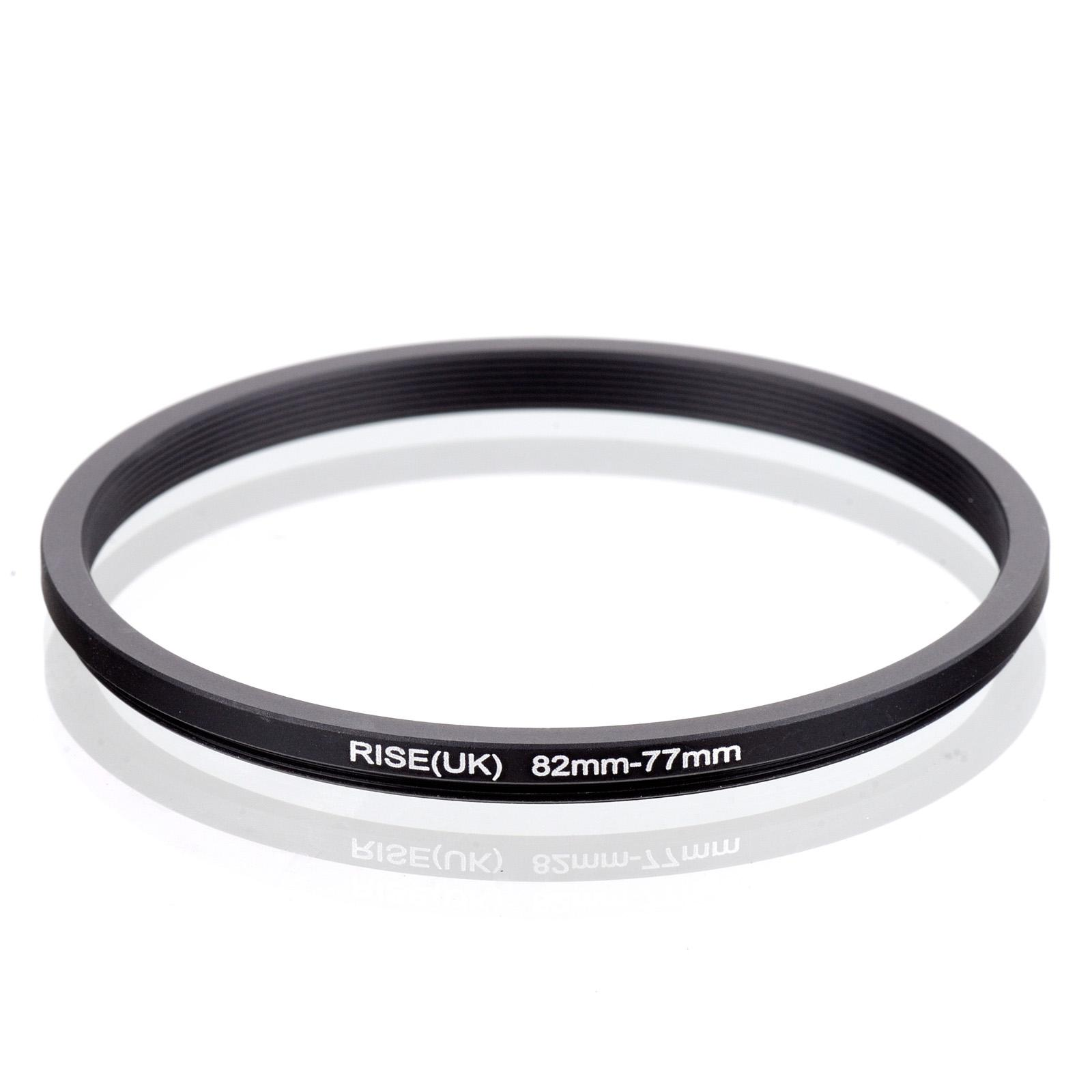 ring meaning RISE(UK) 82-77mm 82-77 mm 82 to 77 Step down Filter Ring  Adapter Black adapter factory