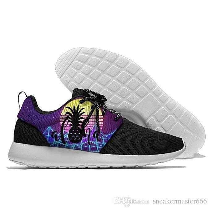 new concept 94144 c70a8 Acquista Hawaii Pineapple Aloha Scarpe Da Trekking Scarpe Casual Scarpe Da  Uomo Leggere Il Turista A 58.89 Dal Sneakermaster666  DHgate.Com