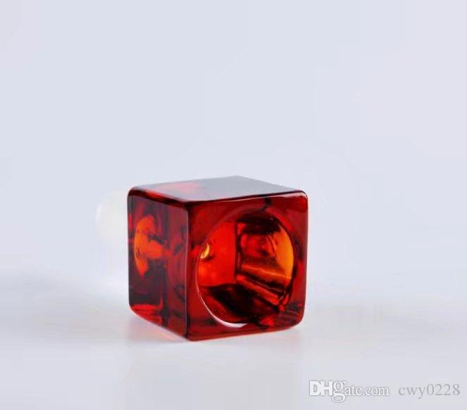Square bubble head ,Wholesale Glass bongs Oil Burner Pipes Water Pipes Glass Pipe Oil Rigs Smoking,