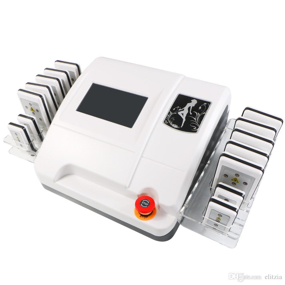 Almofadas da máquina 14 da beleza do emagrecimento do laser da remoção das celulites da perda de peso do Shaper do corpo de Elitzia ETMS1403