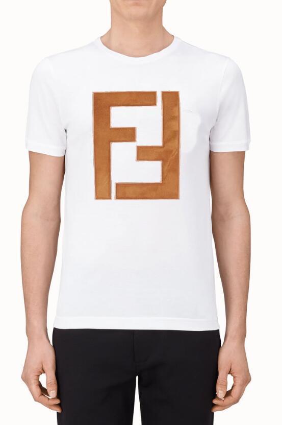 586c5e0d0 2019 BRNAD Summer Design T Shirts For Men Tops Head Letter FENDI T Shirt  Mens Clothing Brand Short Sleeve Tshirt Women Tops #208 Canada 2019 From ...
