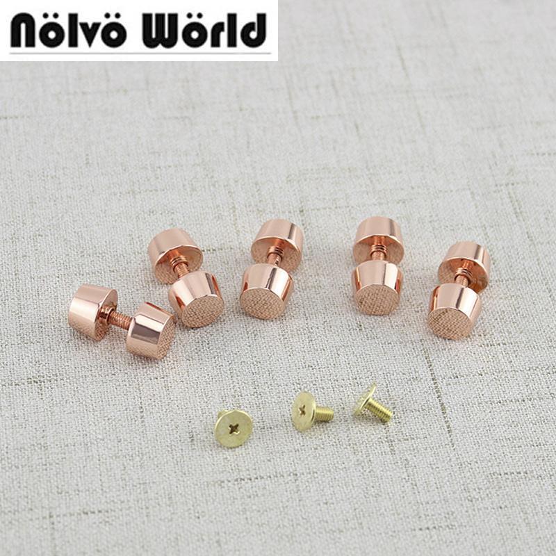 602debc5437cc Großhandel Rose Gold Farben Taschen Feet Studs