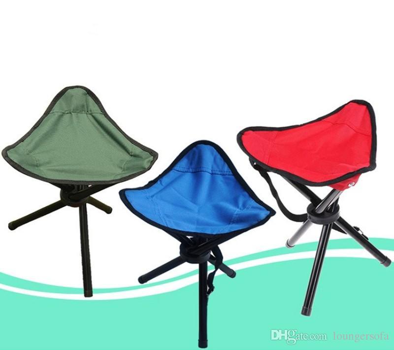 Трехногий Стул Для Отдыха Кемпинг Туризм Складной Стул Сиденье Легко Носить Сгущает Рыболовные Табуреты Завод Прямых Продаж 9at B
