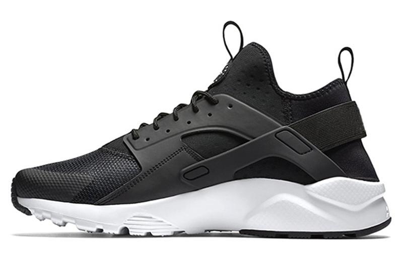 2018 Yeni Hava Huarache 1 Erkekler Için Ayakkabı Koşu Womans, Üçlü Kırmızı Siyah 4 Sneakers Huaraches 1 Eğitmenler huraches Marka Zapatos Spor Ayakkabı