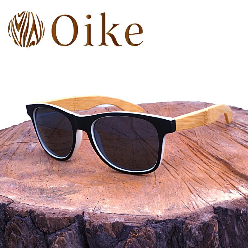 6b79d35cef OIKE Brand Designer Bamboo Polarized Retro Man Sunglasses Driving Rays  Polarized Vintage Wood Sun Glasses Oculos De Sol 2140 Sunglasses For Men  Prescription ...