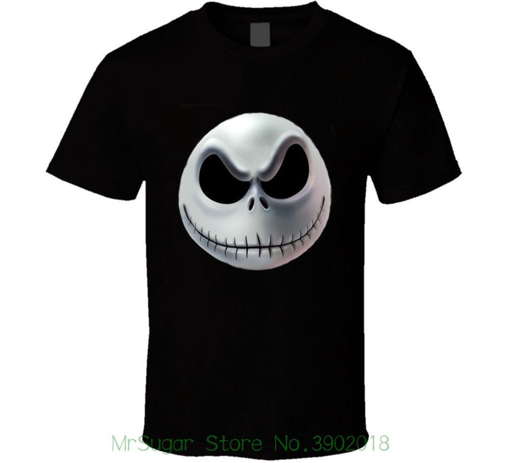 e37a7e126e8ba6 Nightmare Before Christmas Jack T Shirt Tshirt O-neck Summer Personality  Fashion Men T-shirts Online with  30.94 Piece on Mrsugarstore s Store