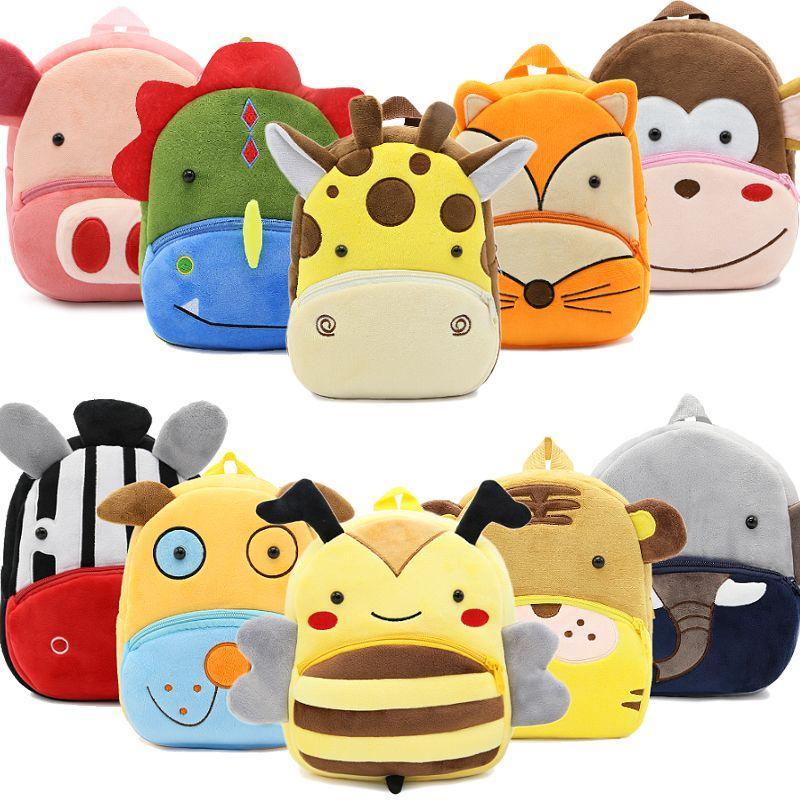 2018 3D Cartoon Plush Children Backpacks Kindergarten Schoolbag Animal Kids  Backpack Children School Bags Girls Boys Backpacks School Backpacks For  Sale ... f9754b2d0c8a3
