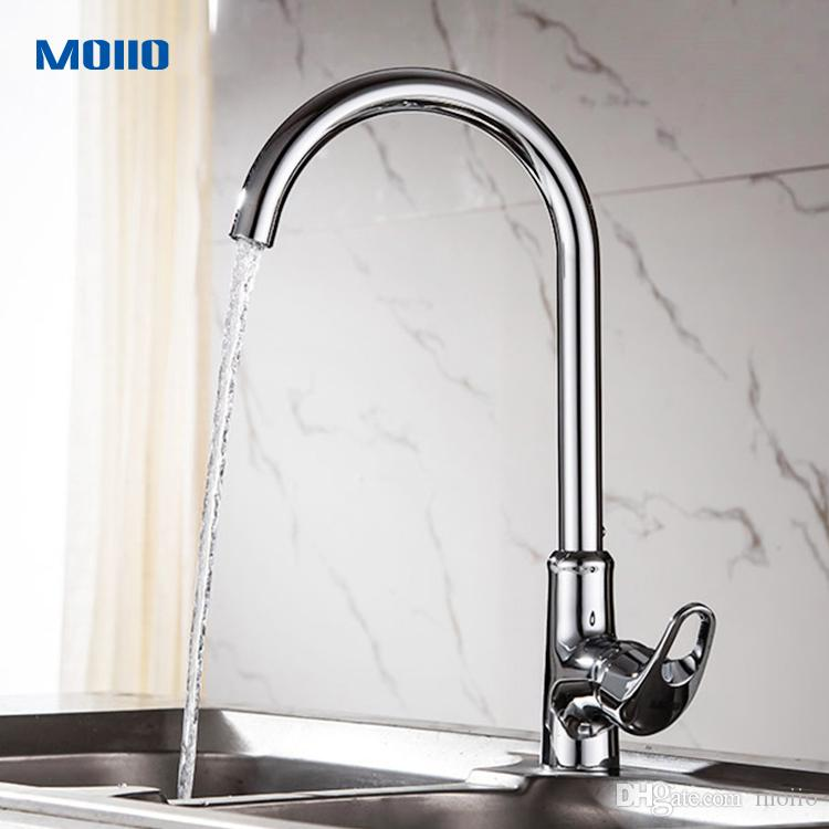 2018 Single Hole Kitchen Faucet Tap Copper Material Of Main Body ...