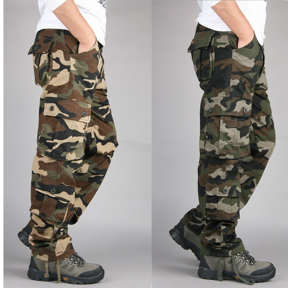 Pour Acheter Hommes Grandwish Camouflage Fit Pantalon Cargo Loose qvUHwEPv
