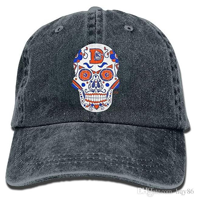 239655c761f Denver Broncos Sugar Skull.Png Adult Cowboy Hat Baseball Cap Adjustable  Athletic Creating Latest Hat For Men And Women Fitted Hats Baseball Hats  From Hqy86