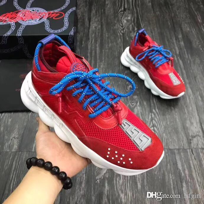 fac53b230b2d Chain Reaction Trainer Men Sneaker Eclectic Details Create A One Of A Kind  Shoe Characterized By A Lightweight Chain Linked Rubber So Discount Shoes  Mens ...