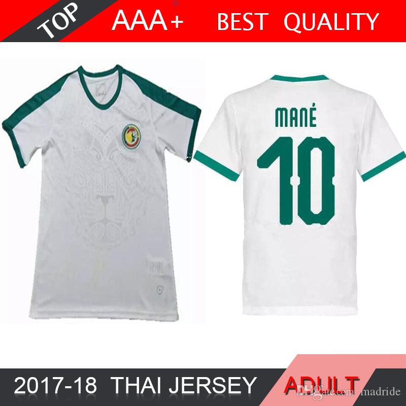 5b48329c346 2019 2018 World Cup MANE Senegal Soccer Jersey 18 19 Senegal National Team  Baldé KOULIBALY Football Jerseys Home Away Shirt From Madride