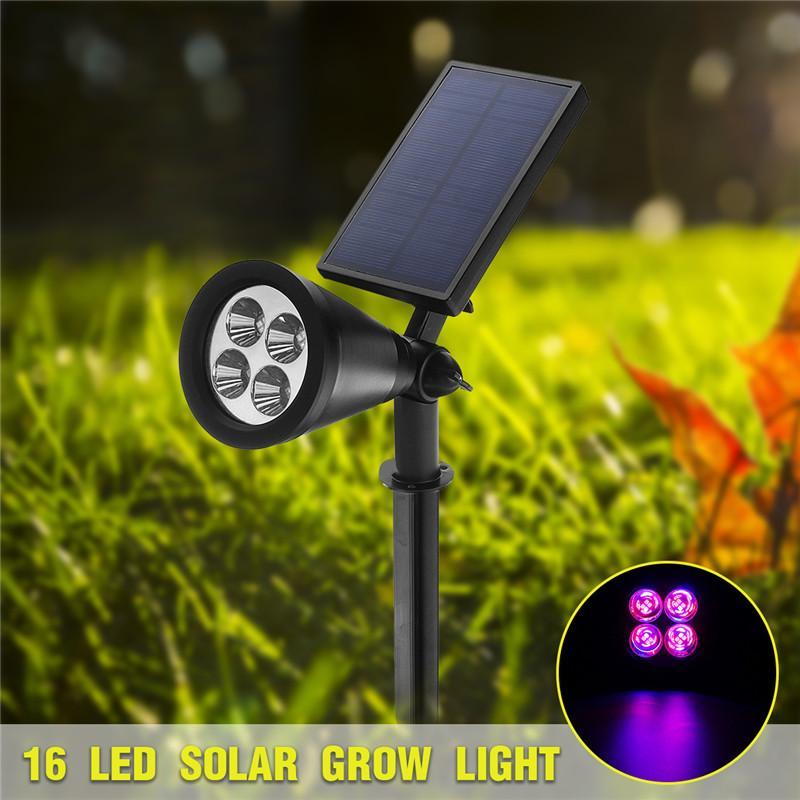 16 Lampe Effet À Solaires Led La Cultiver Serre Solaire Plantes TK13lFJc
