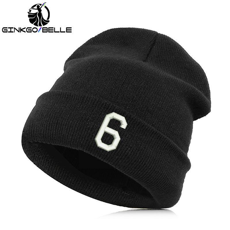 Beanie Hat Skullie Cap Slouchy Winter Embroidery Punk Men Women ... 7389104c2526