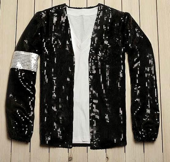 6a4f27ea755 Custom Made Michael Jackson Cosplay Billie Jean Costume Accessories ...