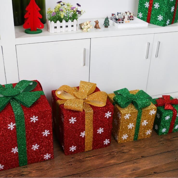 DIY Making Gift Boxes Showcase Supermarket Scene Decoration ...