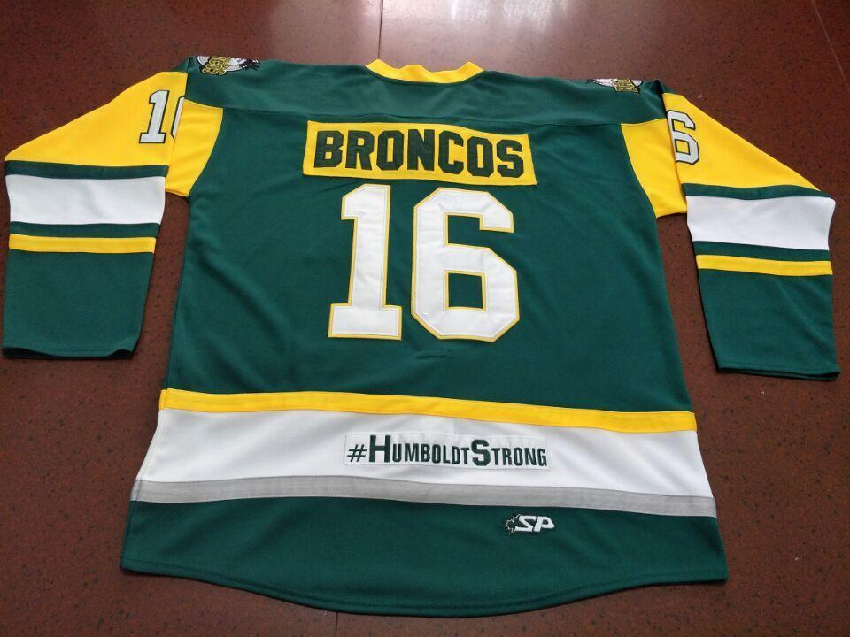 2019 Real Men Real Full Embroidery  16 HUMBOLDT BRONCOS HUMBOLDT STRONG  STRASCHNITZKI HOCKEY JERSEY Or Custom Any Name Or Number Retro Jersey From  Ncaa001 50fd4a387450