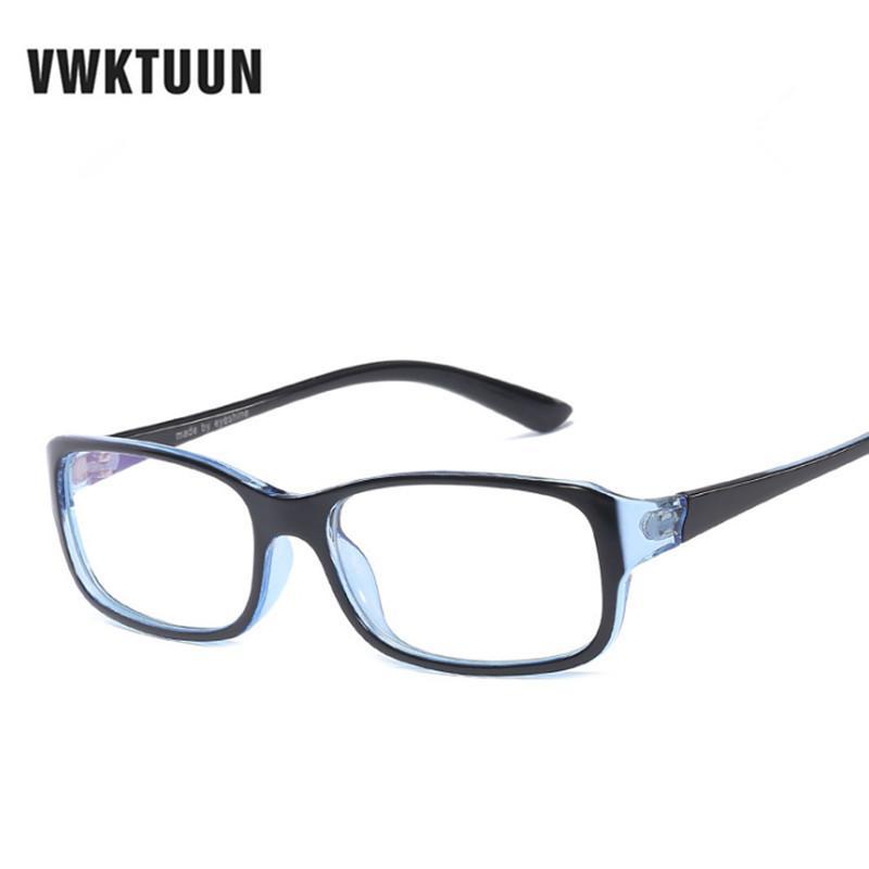 VWKTUUN TR90 Frame Eyeglasses Frames Anti Blue Light Computer Eyeglasses  Students Fake Glasses Frames Super Light Frame Eyewear Frames Cheap Eyewear  Frames ... b150cbea44