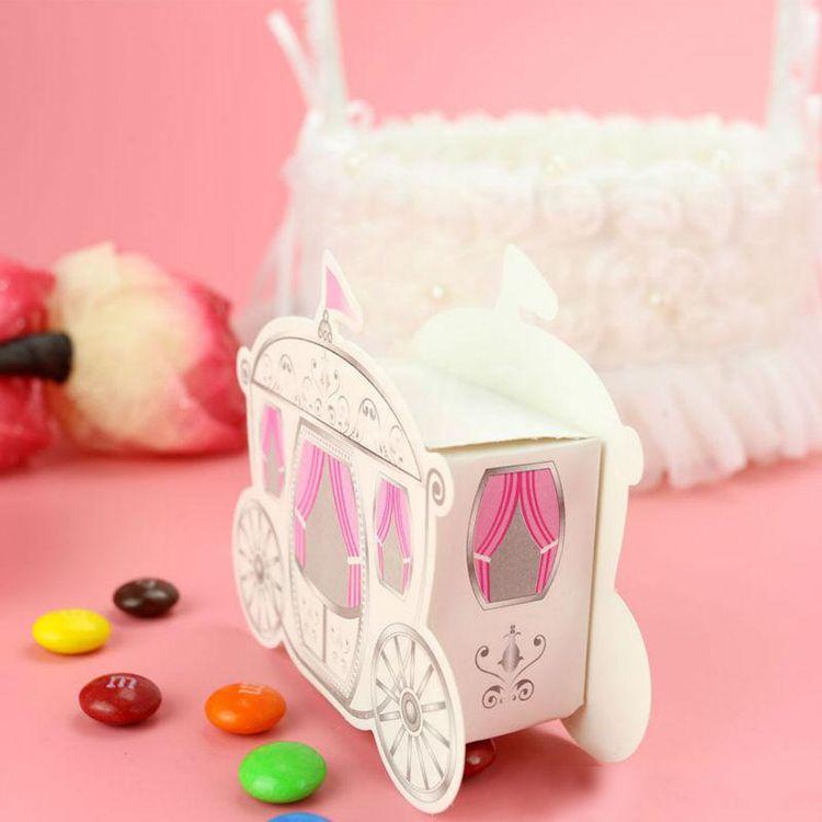 FEIS toptan taşıma Kağıt Düğün Iyilik Şeker Kutusu taşıma Baskı şeker kutuları Düğün Parti Bebek Duş Evlilik Hediye
