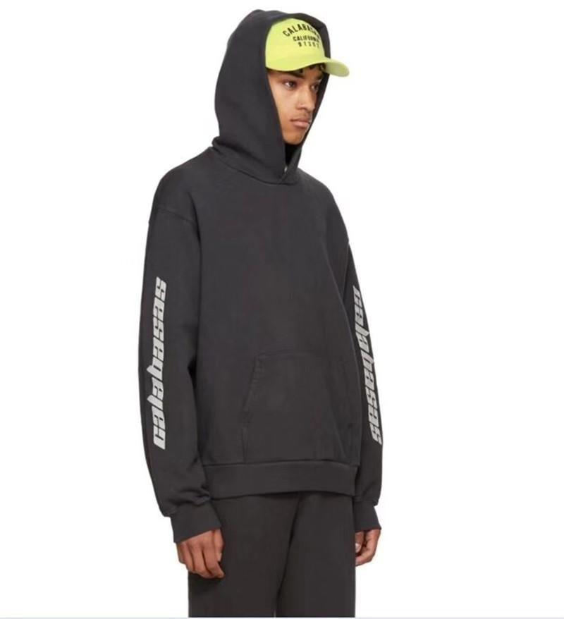 6bc5270e7 2019 Season 5 Embroidery Calabasas Hoodies Men Women 1a 1 High Quality  Kanye West Hip Hop Sweatshirts Pullover Season 5 Hoodies From Gaodashang