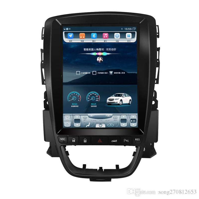 Quad Core Android 9.7 Inch Vertical Tesla Screen Car PC