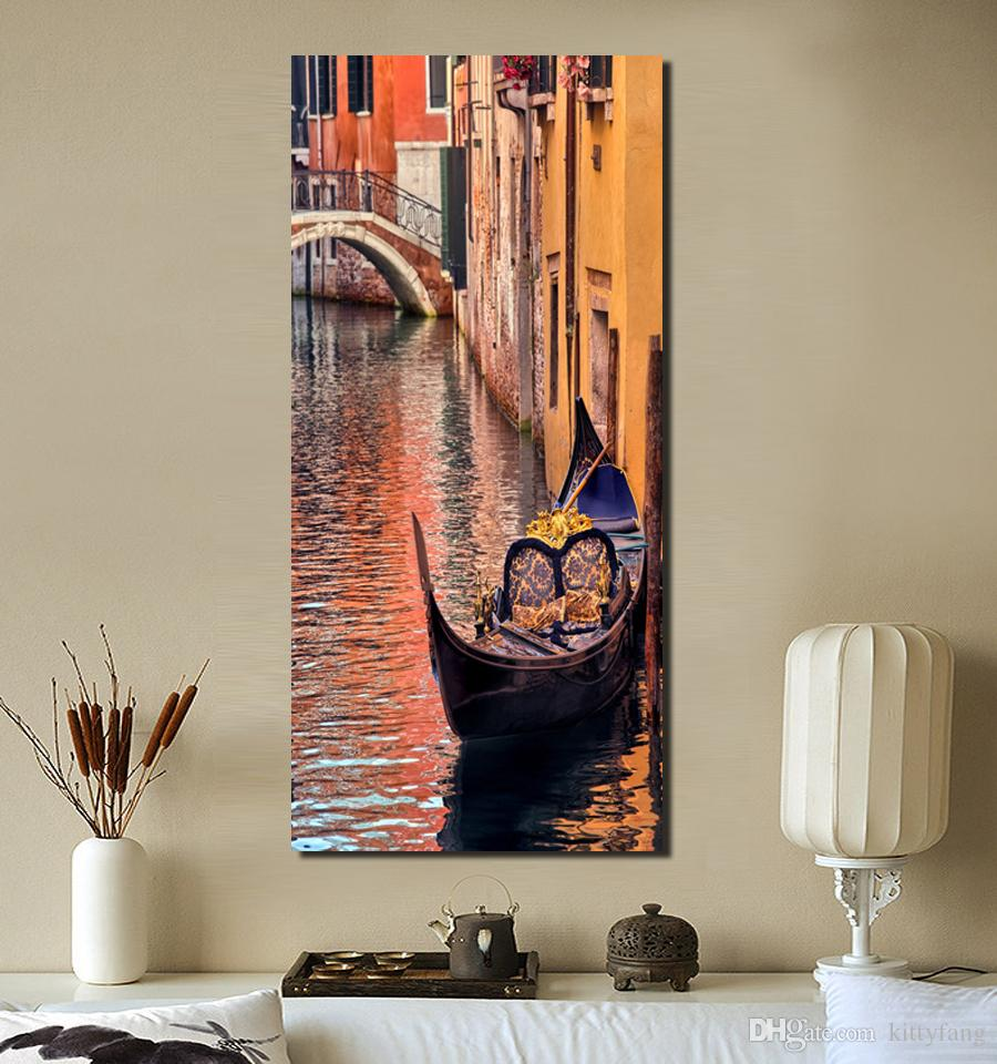 2019 sunset landscape modern wall art canvas prints venice painting modular decor picture promotion no frame from kittyfang 22 19 dhgate com