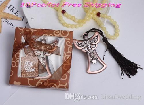 Newest Angel Wedding Favors Of Angel Shaped Bottle Openers For