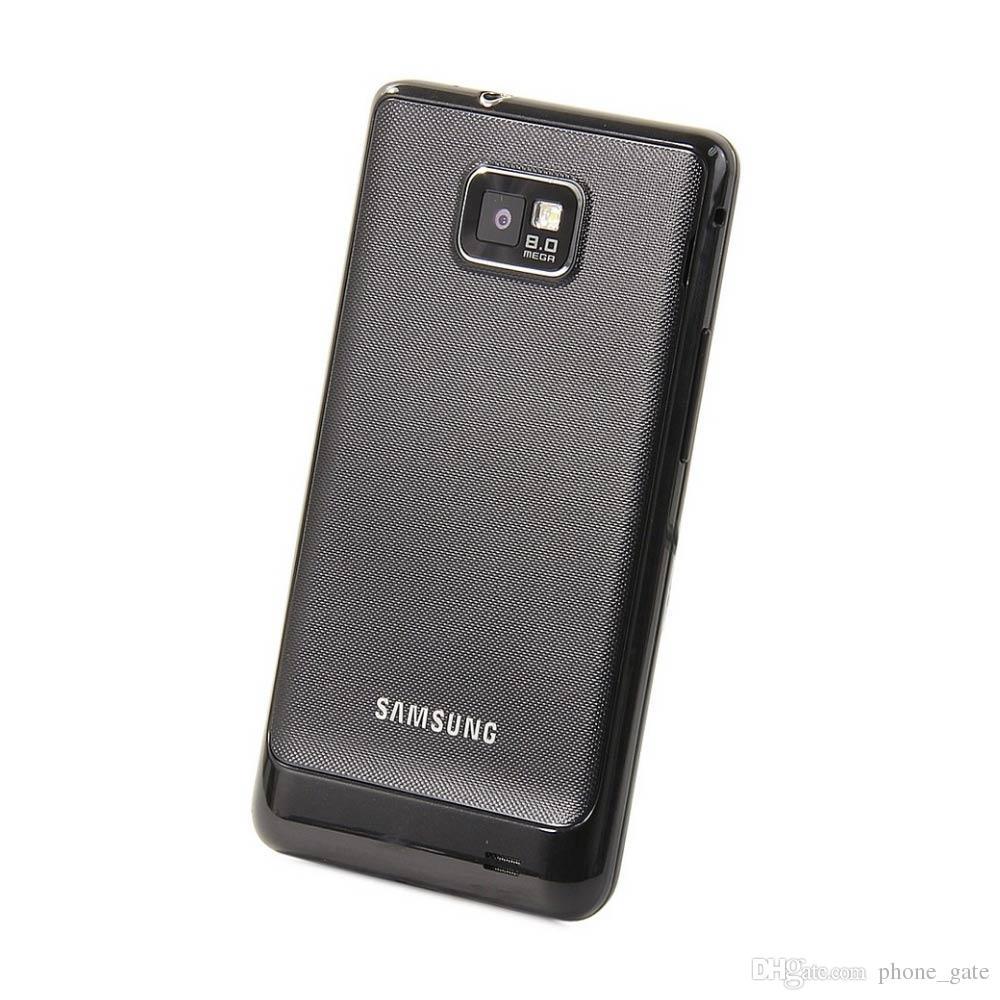 Original i9100 Samsung GALAXY SII S2 I9100 Cellphone Android 2.3 Wi-Fi GPS 8.0MP Camera Dual Core Refurbished Smart Phone