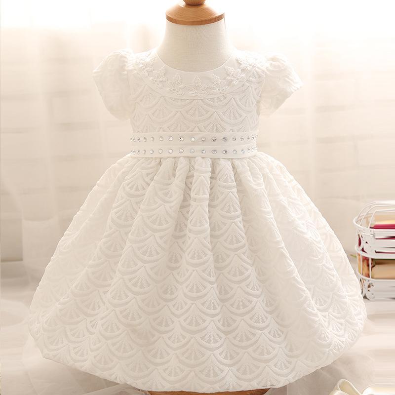 Compre Baby Girl Dress 1 Year Girl Vestido De Cumpleaños De Bebé ...